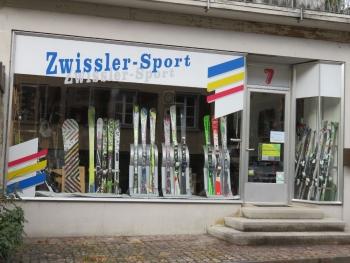 Zwissler-Sport Schaufenster